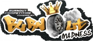 Burnout madness logo powered by